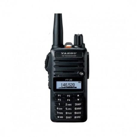 Talkie-Walkie Yaesu FT-25E VHF FM 5W