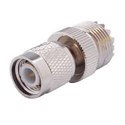 Adaptateur connecteur TNC Male vers UHF Femelle