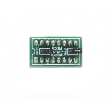 Jumper Signalink SLMOD-8RI prise micro de type rond à 8 broches pour ICOM