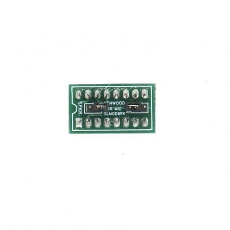 Jumper Signalink SLMOD-8RK prise micro de type rond à 8 broches pour Kenwood et Alinco