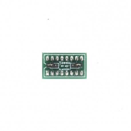Jumper Signalink SLMOD-8RY prise micro de type rond à 8 broches pour Yaesu