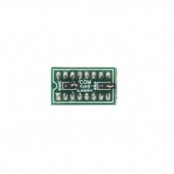 Jumper Signalink SLMOD-R4I prise micro de type rond à 4 broches pour ICOM