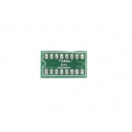 Jumper Signalink SLMOD-R4Y prise micro de type rond à 4 broches pour Yaesu