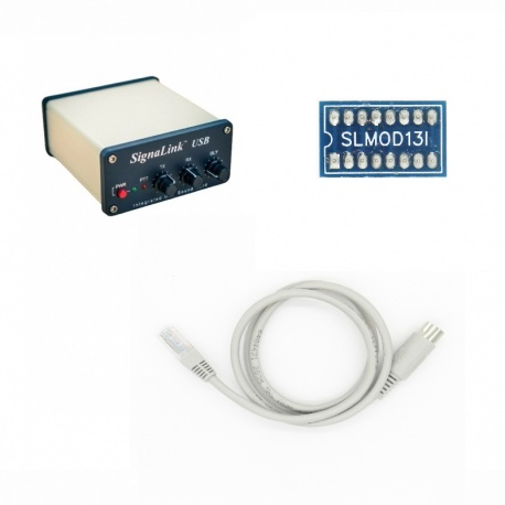 Pack Signalink-13I pour ICOM prise DATA 13 broches mini-din