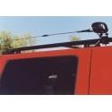 Support motorisé pour antenne mobile