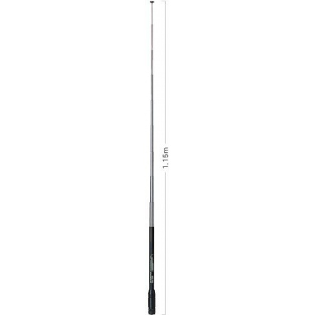 Antenne telescopique BNC Male 70-1000Mhz DIAMOND-RH795