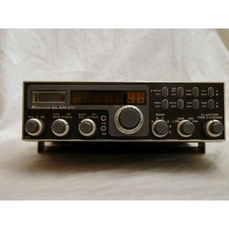8001 AM/FM/SSB 10 et 11m Midland 8001
