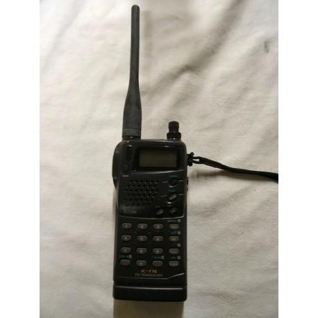 Portable IC-T7E VHF/UHF 6W ICOM ICT7E