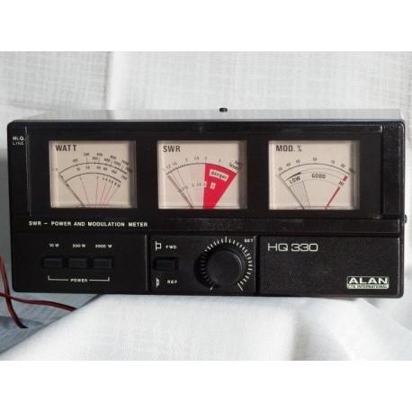 SWR mètre Alan HQ-330 Midland ALAN-HQ330