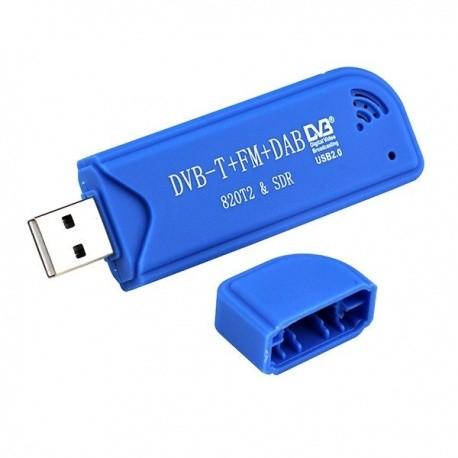 Clé USB RTL-SDR avec tuner R820T2 Passion Radio Récepteurs SDR DONGLE-TNT2-SEUL-248