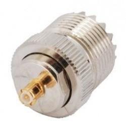 Adaptateur MCX Male UHF Femelle