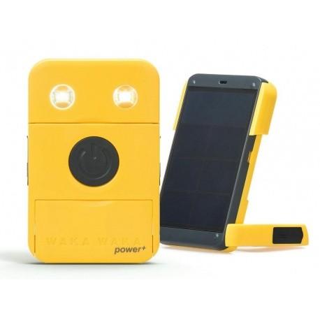 Chargeur solaire USB + Batterie 3000mAh + Lampe
