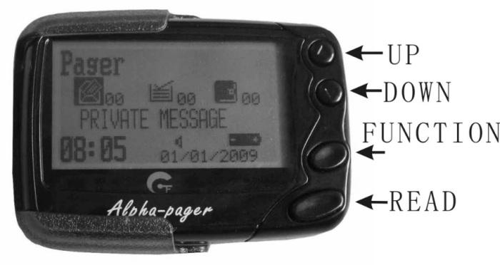 pager alphapoc 602r gp2009n